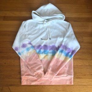 Feat BlanketBlend Hoodie in Coral Reef Tie Dye